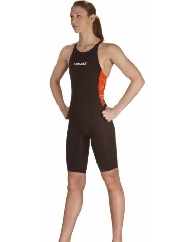 Bañador Liquid fire Knee naranja