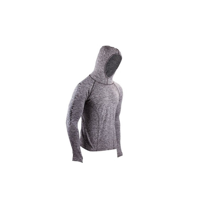 Compressport 3D Thermo Seamless Hoodie gris