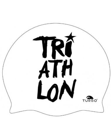 Gorro Turbo Triathlon Blanco