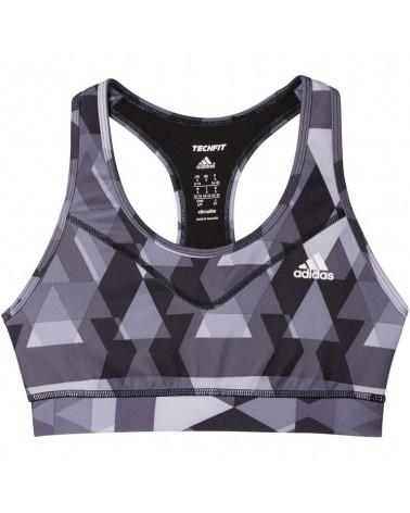 Top Adidas Techfit Bra Printed Mujer