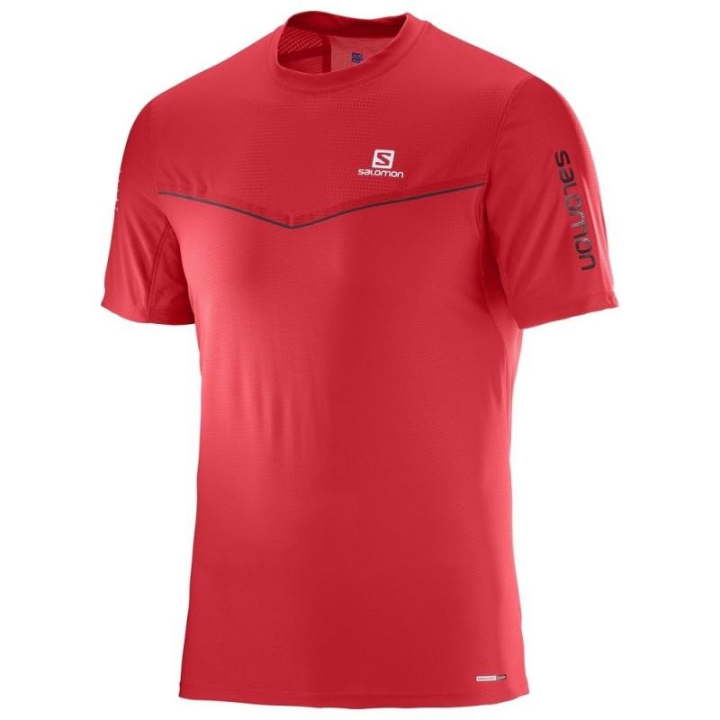 Camiseta Salomon Fast Wing SS TEE M 2017 Hombre