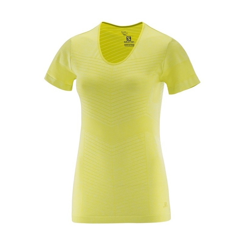 Camiseta Salomon Elevate SS TEE W 2017 Mujer