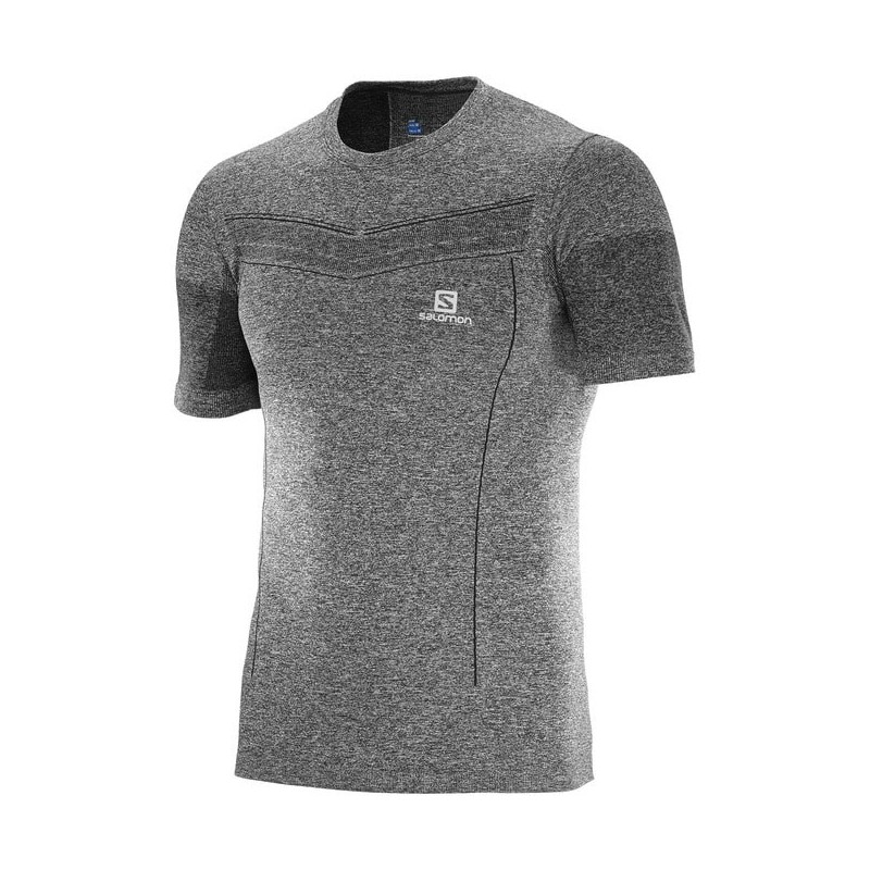 Camiseta Salomon Pulse Seamlees SS TEE W 2017 Hombre