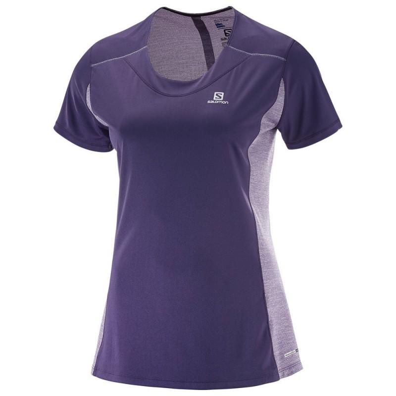 Camiseta Salomon Agile SS TEE W 2017 Mujer