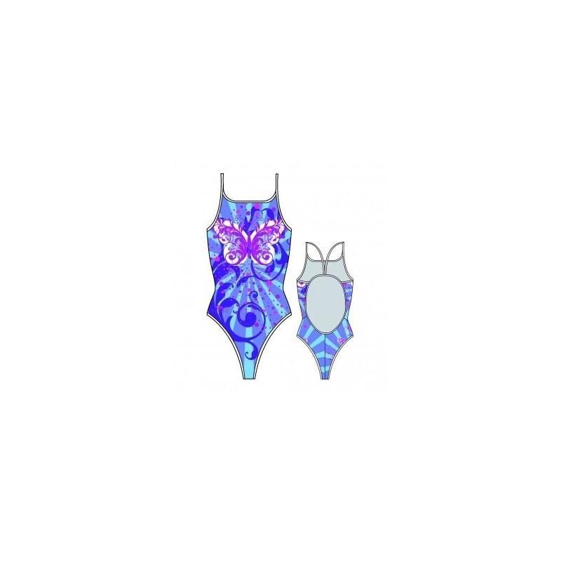 Bañador Turbo Butterfly Stars Morado