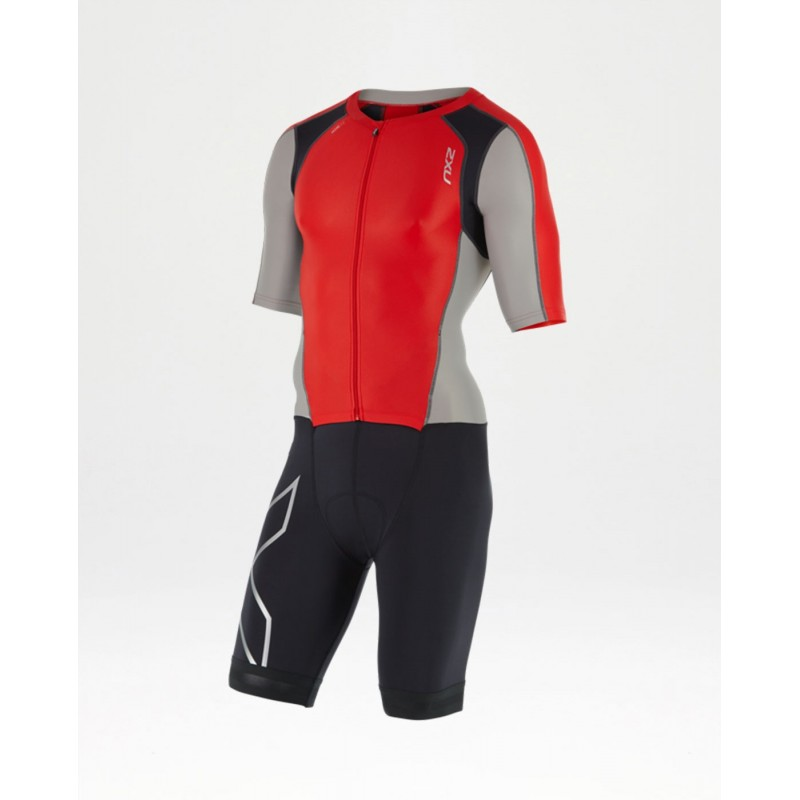 Mono 2XU Compression Full Zip Sleeved Trisuit 2017 Hombre
