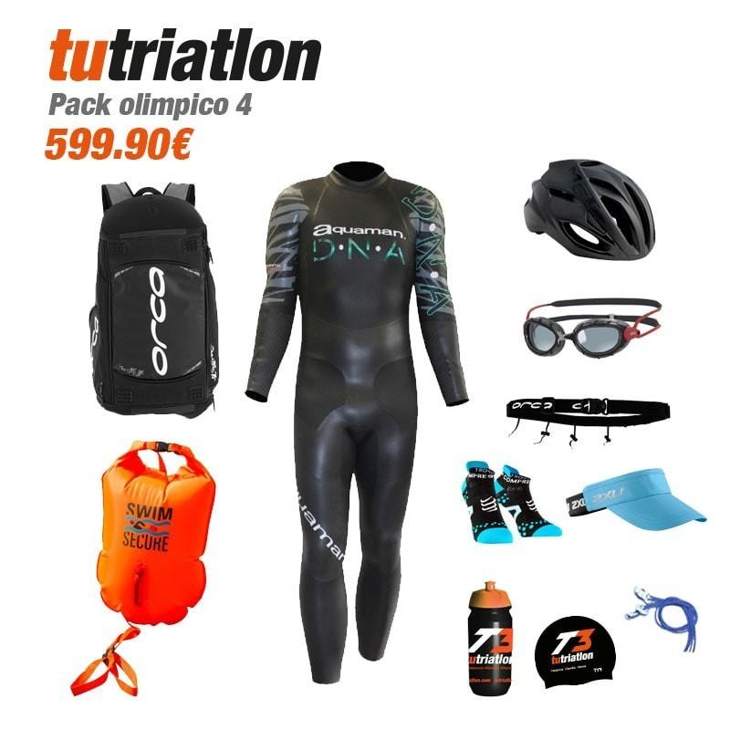 Pack Olímpico 4 Triatlón