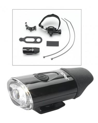 Linterna-LED XLC para casco CL-F20
