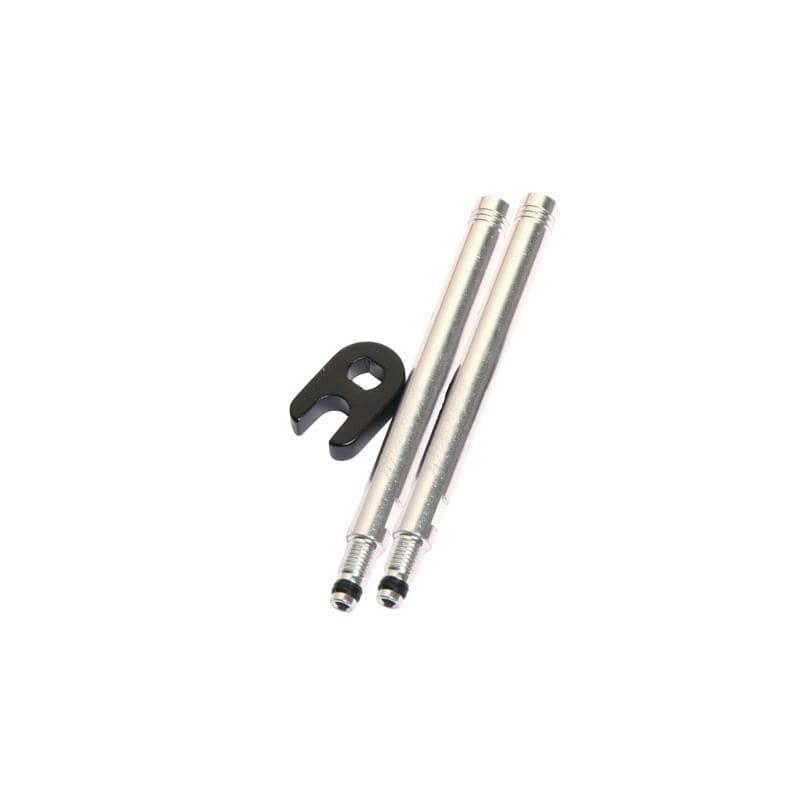 Prolongador de válvula Massi Presta 60mm plata