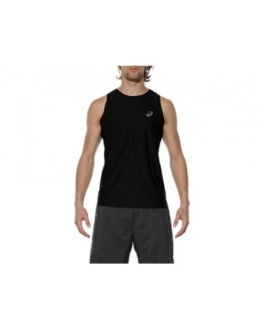 Camiseta Asics Singlet Performance Black 2017 Hombre