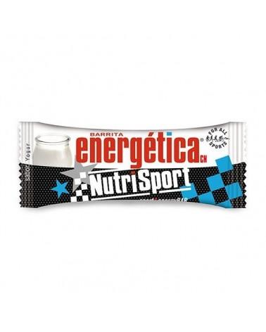 Barrita energética Nutrisport Sabor Yogur