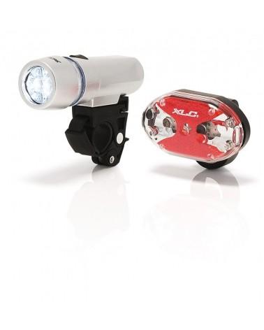 Juego de luces LED XLC Triton + Thebe 5X CL-S03