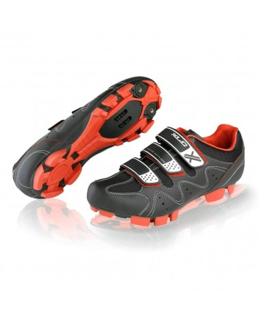 Zapatillas XLC Comp MTB Crosscountry CB-M05 negro/rojo