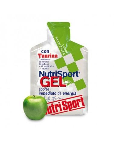 Gel energético Nutrisport Manzana