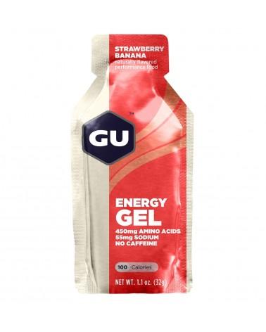 Gel energético GU fresa/plátano