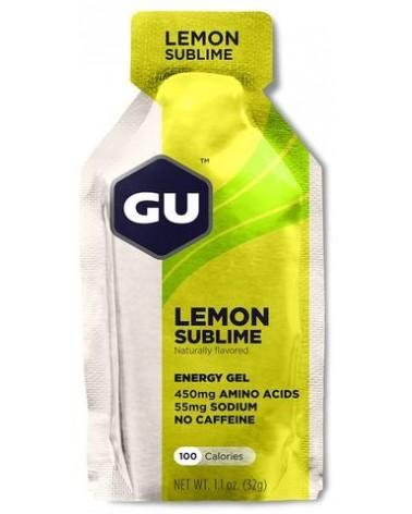 Gel energético Gu Limón