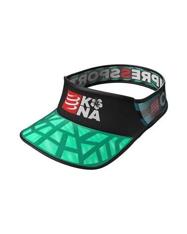 Visera Compressport Spiderweb Visor Kona 2017 Negra