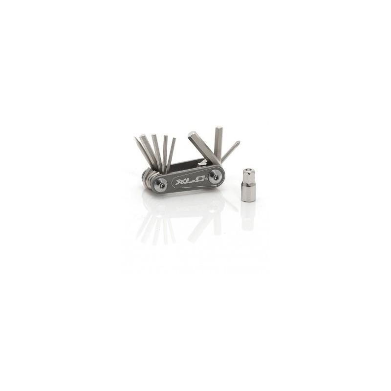 Multiherramientas XLC Nano TO-M08 9 piezas