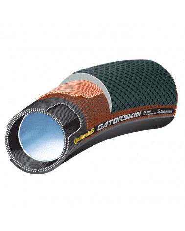 "Cubierta Tubular Continental Sprinter Gatorskin 28"" x 25mm"