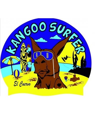 Gorro de Natación Sc Kangoo Surfer