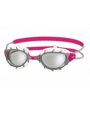 Gafas Natación Zoggs Predator Rosa/Plata Mujer