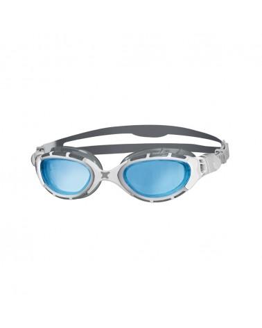 Gafas natación Zoggs Predator Flex Gris/Blanco