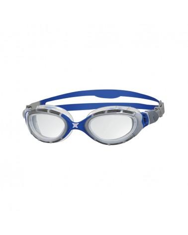 Gafas natación Zoggs Predator Flex Gris/Azul