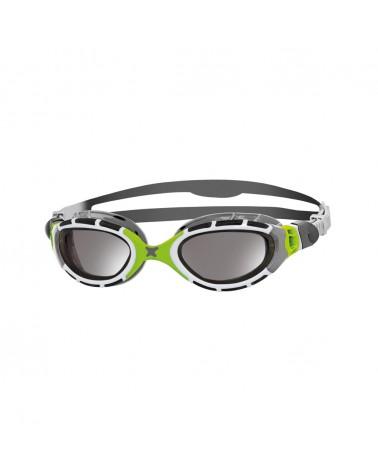 Gafas natación Zoggs Predator Flex Mirror Verde/Blanco