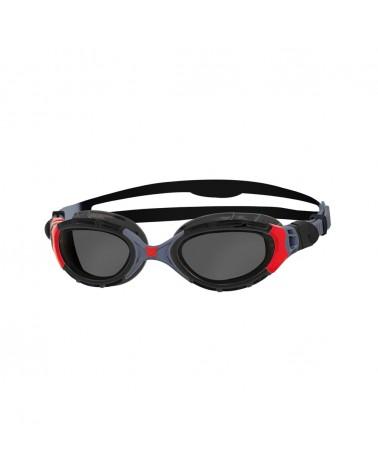 Gafas Natación Zoggs Predator Flex Polarized Negro/Rojo