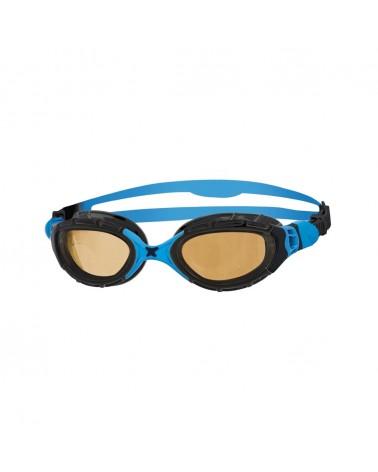Gafas Natación Zoggs Predator Flex Polarized Ultra Negro/Azul