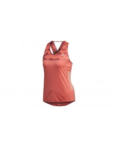 Camiseta tirantes Adidas Adizero Tank Mujer