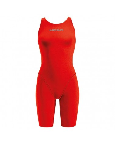 Bañador Head Liquidfire Power Racing Knee Open Back Mujer