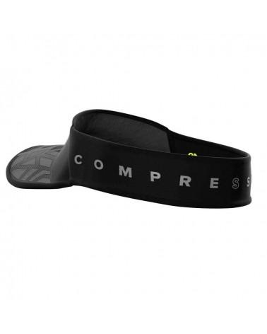 Visera Compressport Spiderweb UltraLight Black Edition 10