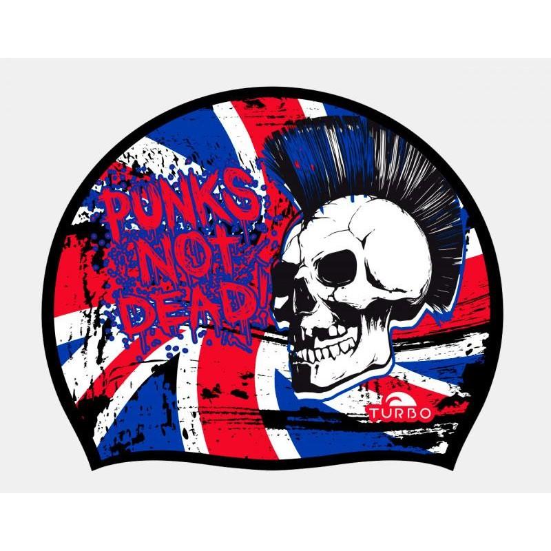 Gorro de Natación Turbo England Punk