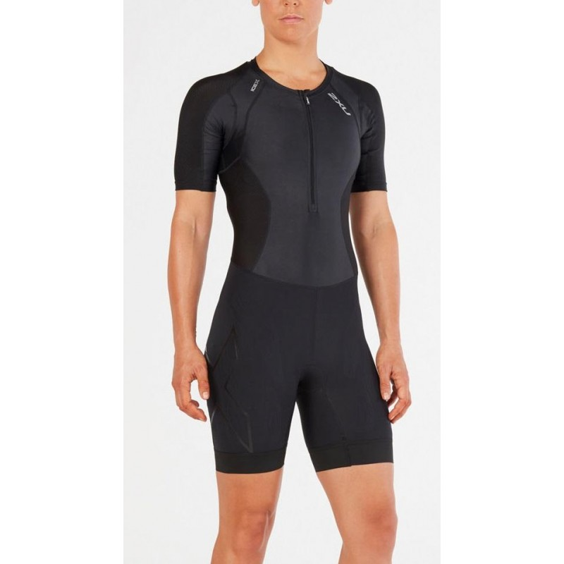 Mono 2XU con mangas Compression Sleeved Trisuit 2018 Mujer