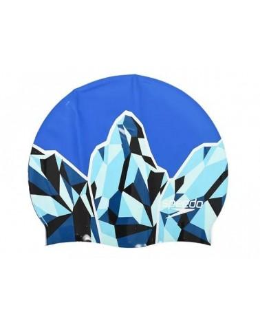 Gorro de natación Speedo Slogan Print