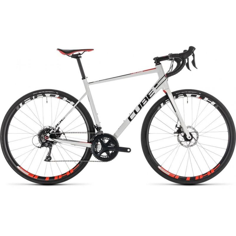 Bicicleta carretera Cube Attain Pro Disc 2019