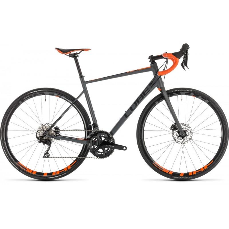 Bicicleta carretera Cube Attain SL Disc 2019
