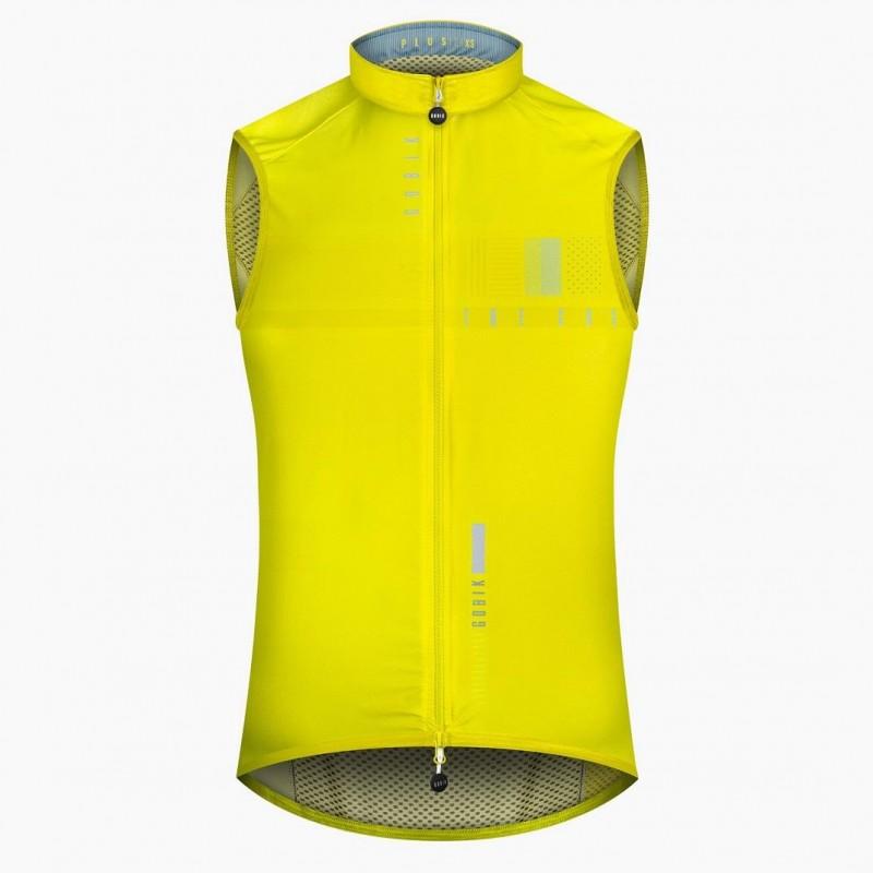 Chaleco ciclismo Gobik Plus SN Lime Stone 2019 Hombre
