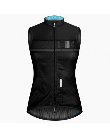 Chaleco ciclismo Gobik Plus SN Black Steel 2019 Mujer