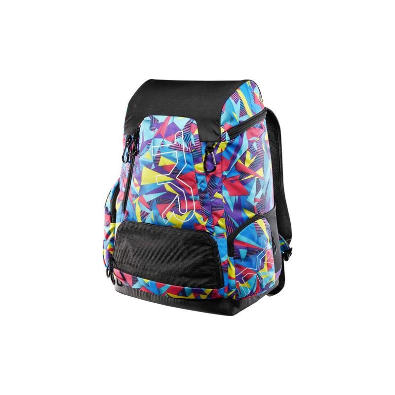 Mochila TYR Alliance Team Backpack 45L Geo Print