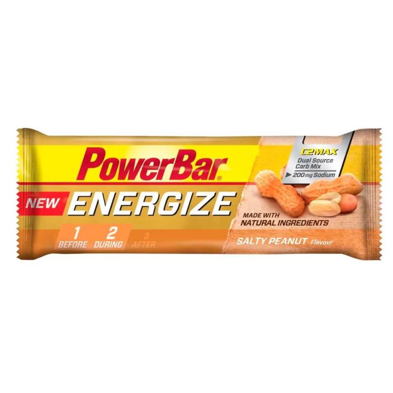 Barrita Energética Energize Cacahuete 55g