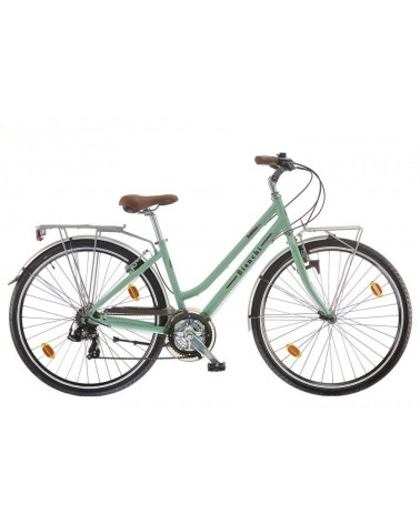 Bicicleta de paseo Bianchi Spillo Rubino Lady Deluxe Alu 2