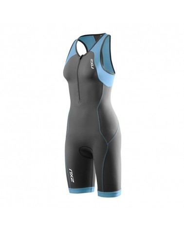 MONO 2XU G:2 ACTIVE TRISUIT MUJER GRIS/AZUL