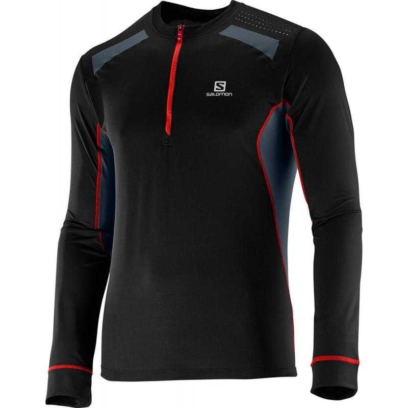 Camiseta Larga Salomon Fast Wing LS Tee Hombre