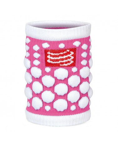 Muñequera Compressport Sweat Band Fluo