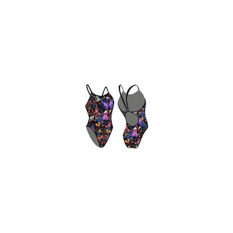 Bañador Cuervo Sly Sw Butterfly  Black Tf/Ts Mujer