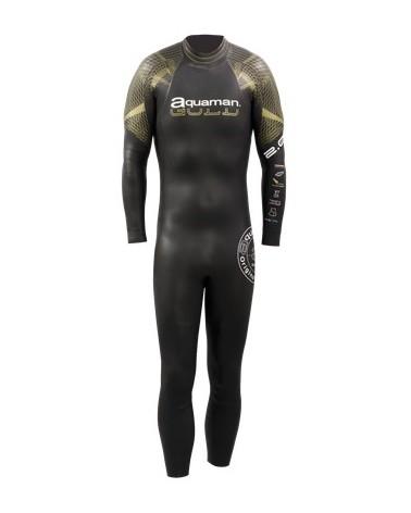 Neopreno Aquaman Cell Gold 2016 Hombre