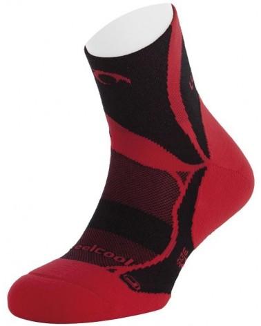 Calcetín Lurbel Non-Stop Rojo-Negro