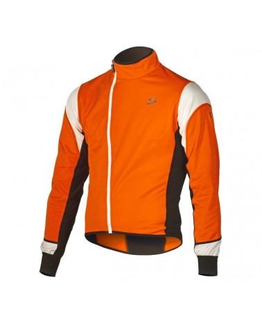 Chaqueta Spiuk Race Jacket Hombre Naranja